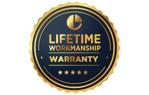 Lifetime Workmanship Warranty