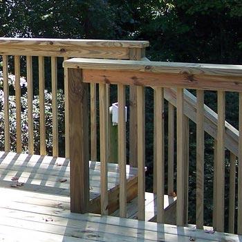 treated-railing