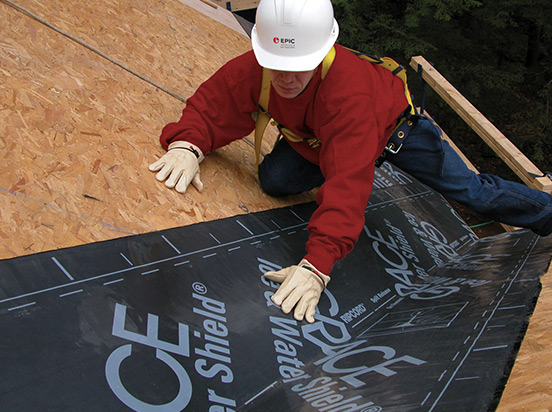 ice water shield roofing product