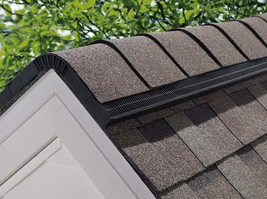 ridge venting roofing product
