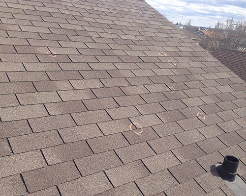 calgary hail damage roof
